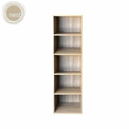 Picture of NEST DESIGN LAB HIGH CABINET 5 LAYER- Ash Wood