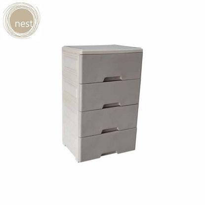 Picture of NEST DESIGN LAB Multi-purpose heavy duty storage 4 Layer cabinet