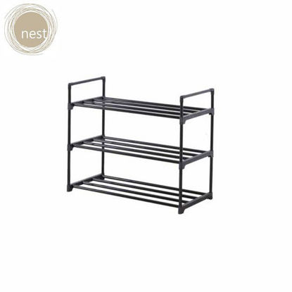 Picture of NEST DESIGN LAB 3 Layer Steel Shoe Rack