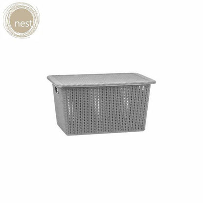 Picture of NEST DESIGN LAB 5L Knit Basket with Lid