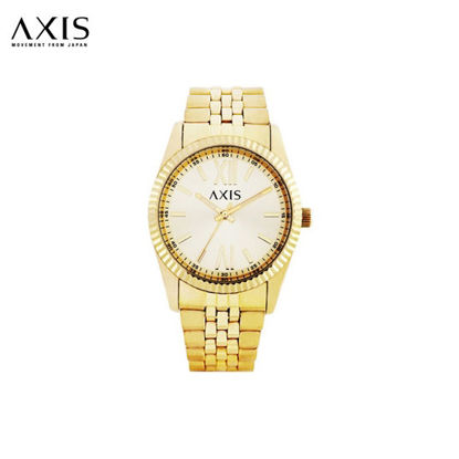 Picture of Axis Tyler Mens Gold Stainless Steel Watch For Men AH1232-1216