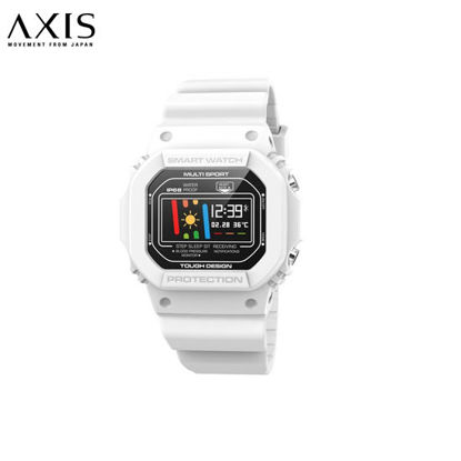 Picture of AXIS Fit White Silicone Smart Watch For Unisex AN3338-0402