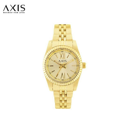 Picture of Axis Taylor Gold Stainless Steel Watch for Women AH2232-1216
