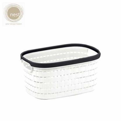 Picture of NEST DESIGN LAB Knit Rattan Basket