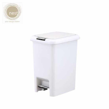 Picture of NEST DESIGN LAB Pedal bin Plastic White