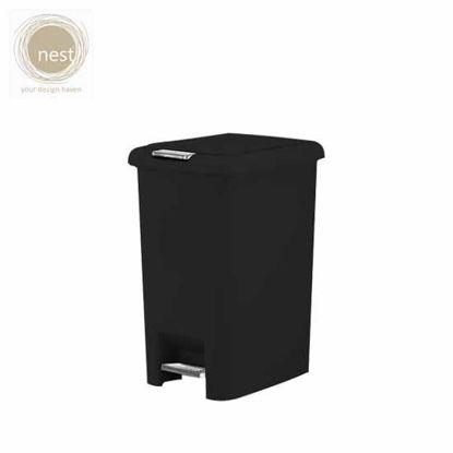 Picture of NEST DESIGN LAB Pedal bin Plastic Black