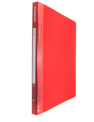Picture of Databank Clear File A4 Mt-30-49 Red