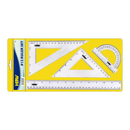 Picture of Hbw Ruler Set 12 Inches