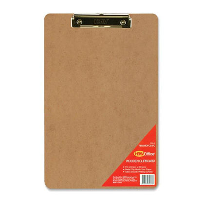 Picture of Hbw Clipboard (Natural Wood Color) Fc