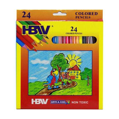 Picture of Hbw Arte & Cor 24 Color Pencil (Long)