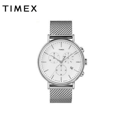 Picture of Timex Fairfield Chronograph 41mm Mesh Band Watch for Women TW2R27100