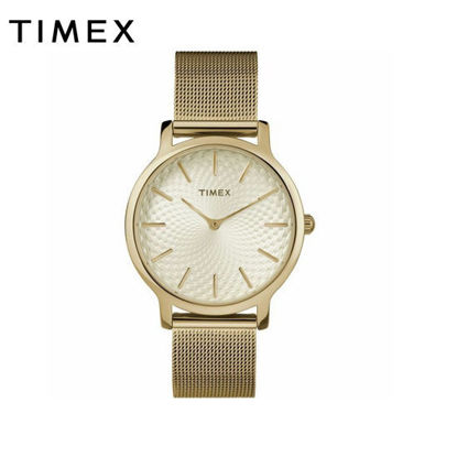 Picture of Timex Metropolitan 16mm Stainless steel Mesh Band Watch for Women TW2R36100