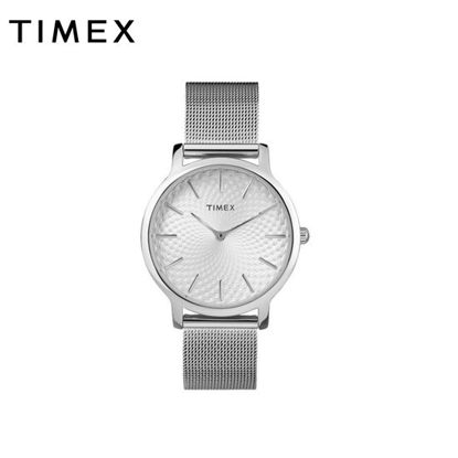 Picture of Timex Silver Stainless Steel Watch For Women TW2R36200 Classics
