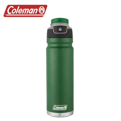 Picture of Coleman Free Flow Stainless Steel Heritage Green 24oz