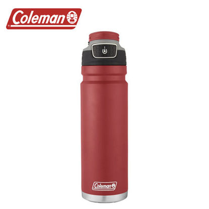 Picture of Coleman Free Flow Stainless Steel Heritage Red 24oz