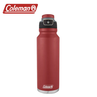 Picture of Coleman Free Flow Stainless Steel Heritage Red 40oz