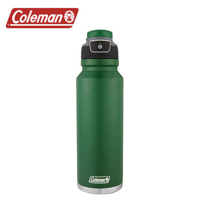 Picture of Coleman Free Flow Stainless Steel Heritage Green 40oz