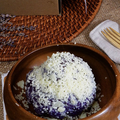 Picture of Manna Ube Ensaymada