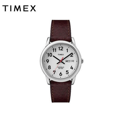 Picture of Timex Leather Brown Watch For Women T20041 Classics