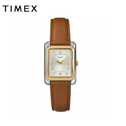 Picture of Timex Meriden Brown Leather Watch For Women TW2R89600 Style