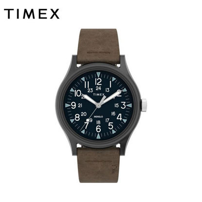 Picture of Timex MK1 Steel Leather Strap Watch (40mm) TW2T68200