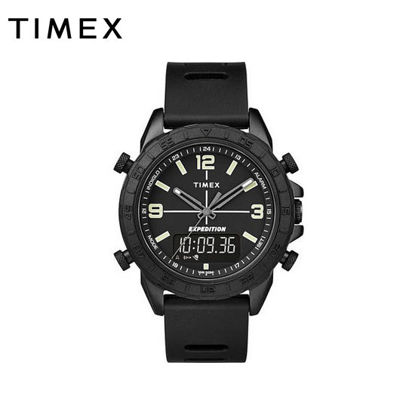 Picture of Timex Expedition Pioneer Black Digital Analog Watch for Men TW4B17000