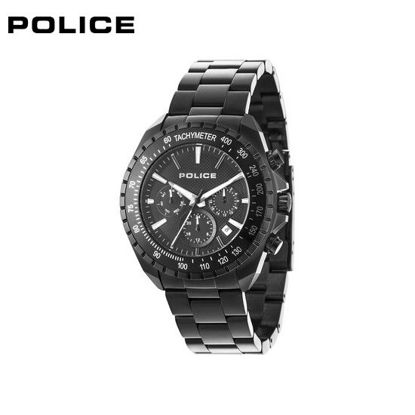 Picture of Police Twintone Black Stainless Steel Watch For Men PPL15328JSB02M
