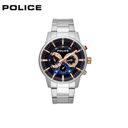 Picture of Police Silver Stainless Steel Watch For Men PPL.15523JS/02M