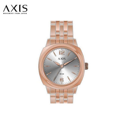 Picture of Axis Mila Silver Dial Rosegold Strap for Women AE2284-1803
