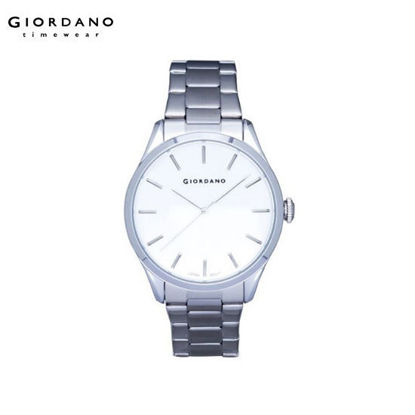 Picture of Giordano Silver Gents Stainless Steel Watch for Men G1101-11