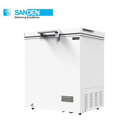 "Picture of Sanden 5.3""Cuft Hardtop Chest Freezer (150Liters) Snh-0155"