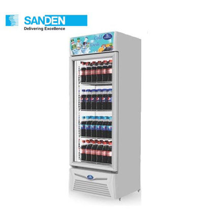"""Picture of Sanden 9.5""""Cuft Upright Chiller (250Liters) Spa-0253a"""