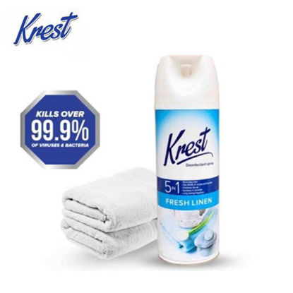 Picture of KREST Disinfectant Spray 350g fresh linen