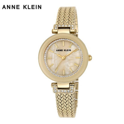 Picture of Anne Klein Gold Tone Watch With Bracelet Set