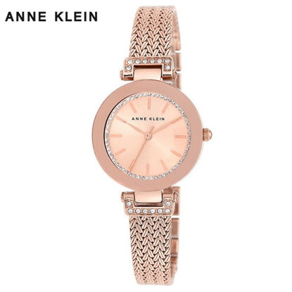 Picture of Anne Klein Rose Gold Watch With Bracelet Set