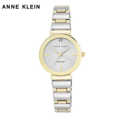 Picture of Anne Klein Gold And Silver Tone Diamond Watch