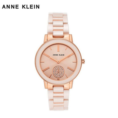 Picture of Anne Klein Rose Gold Watch With Ceramic Bracelet