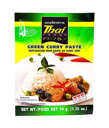 Picture of 3 Chefs Green Curry Paste 50G