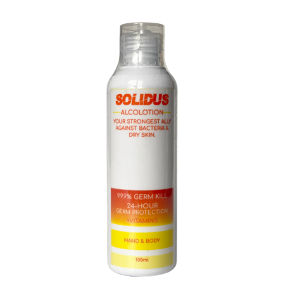Picture of Solidus Alcolotion Hand and Body 100ml