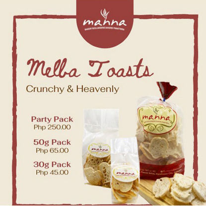 Picture of Manna Melba Toast Pack 50g