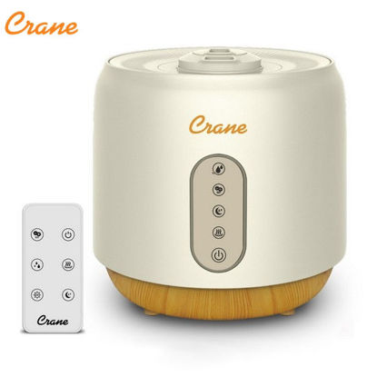 Picture of Crane 5 In 1 Top Fill Humidifier Ultrasonic Warm & Cool Mist + Air Purifier
