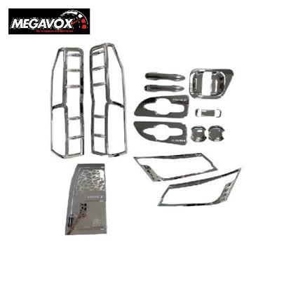 Picture of Megavox Car Accessories Toyota Hiace Commuter Deluxe 2019-2020 Chrome Combo Set