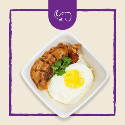 Picture of Elephant Express Bagnet Rice Meals