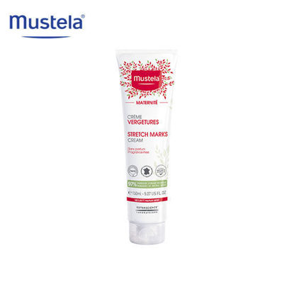 Picture of Mustela Fragrance Free Stretch Marks Prevention Cream 150ml