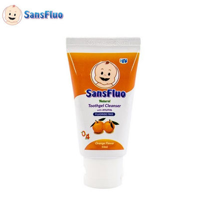 Picture of SansFluo Natural Toothgel Cleanser (Orange)