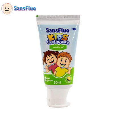 Picture of SansFluo Natural Kids Toothpaste (Honey Dew Vanilla)