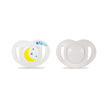 Picture of Mamajoo Silicone Orthodontic Soother NightDay 12+months 2pcs