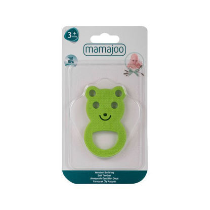 Picture of Mamajoo Soft Teether Green