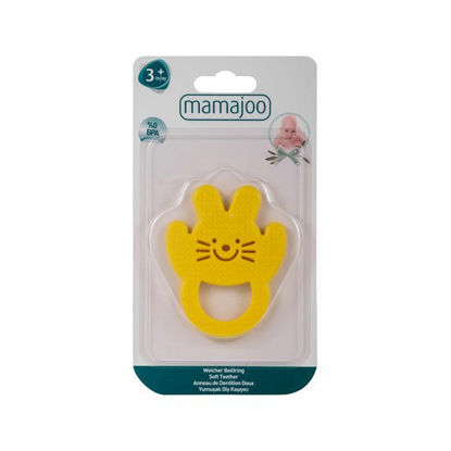 Picture of Mamajoo Soft Teether Yellow
