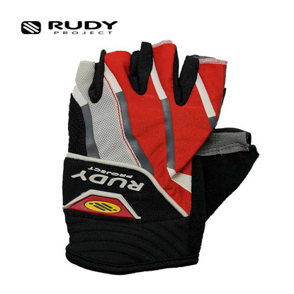 Picture of Rudy Project Grinder Gloves White Small